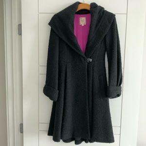 Nanette Lepore black coat - size 2